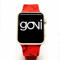 Love Republic collection  Fashion Apple Watch band @goviloop  #applewatch #apple #nadiaflowerdesign #love #red #smartwatch