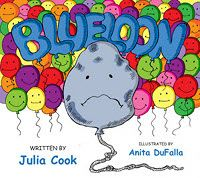 """Blueloon""  On TeachersNotebook.com . is a sad little balloon who is suffering from depression. With help from the wise rock, Blueloon learns what he can do to ""bounce back""to being the way he uses to be - bright, round, and full with a very straight string."