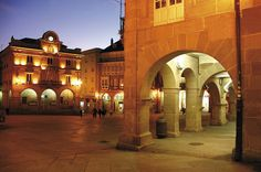 Praza Maior .Ourense.Spain