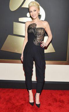 Gwen Stefani from 2015 Grammys: Red Carpet Arrivals | E! Online