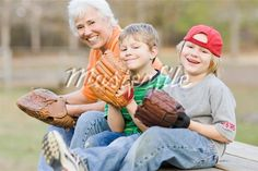 family playing baseball - Google Search