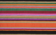 Westminster Fabrics' Serape Stripes, SAGP003, by Kaffe Fassett.  URL won't fit.  Pinned to remind me of (some of) all the other colors that can play well with orange, in the right amounts.