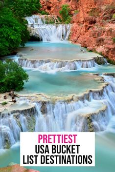 The PRETTIEST Places to Visit on Your USA Bucket List! - - Planning a trip and looking for the best USA bucket list destinations? This comprehensive list has some of the top things to see, do and eat across America. Beautiful Places To Visit, Cool Places To Visit, Places To Travel, Places To Go, Best States To Visit, Usa Travel Guide, Travel Usa, Travel Tips, Travel Goals