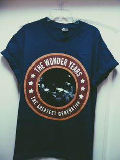 Ever find yourself wanting all of The Wonder Years' merch? ...Same. #bands #poppunk