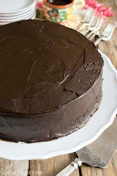 Nanny's Black Midnight Cake