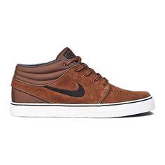 Nike SB Stefan Janoski Mid Military Brown/Black schoenen