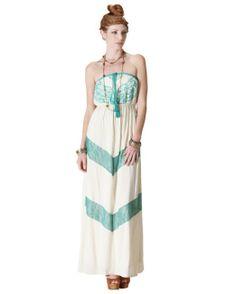 Amazon.com: Flying Tomato Women's Embroidered Maxi Dress: Clothing