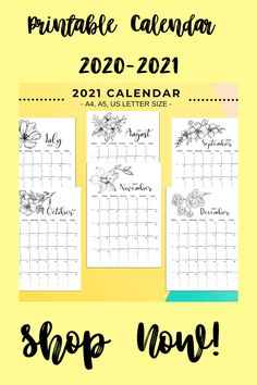 Printable Calendar 2020, Printable Planner, Planner Stickers, Printables, Sticker Organization, Letter Find, What Is Your Name, Handmade Accessories, I Am Happy
