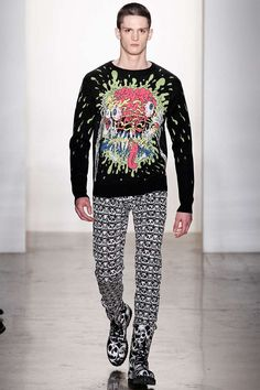 The Jeremy Scott Fall/Winter 2013 Collection is Street Chic trendhunter.com