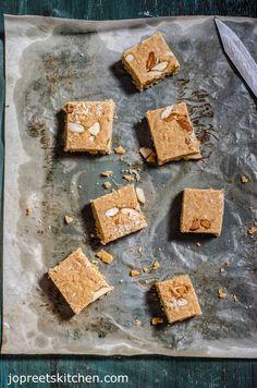 Mohanthal Recipe / Gram Flour Fudge - A Traditional Gujrati Sweet