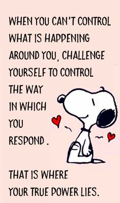 Control your response