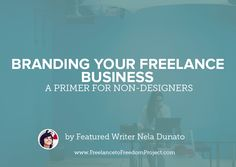 Having a professionally designed brand has many benefits, but the practical reality is that in the beginning of your freelance career, you may not be able to afford it. If you're still experimenting with your business, investing in a professional brand right now may not be the wisest choice – you might find in a …