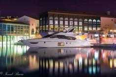 Spectacular! The Limassol Marina at night. #cyprus