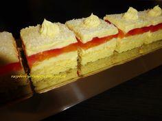Raspberrybrunette: Mandarínkové rezy    Svieži ovocný koláč z jemnou ...