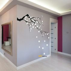 Deko-Objekte - Schablone zum Malen - Sakura (3418x) - ein Designerstück von ARTschablone bei DaWanda
