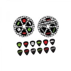 Buy Online McBusted - 2015 Tour Plectrum Pack
