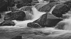 Waterfall at Grasmere - Lake District, England