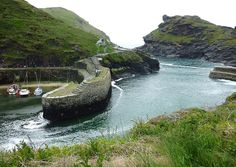 Boscastle, North Cornwall England