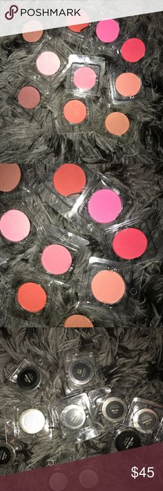 10 brand new blush Beautiful colors selling all together Blush Makeup Blush