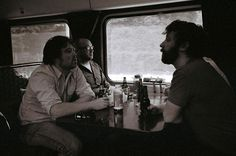 Flickr user, joeball, captured a moment from a bachelor party on one of our trains. Thanks for sharing!