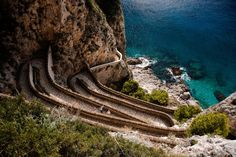 Via Krupp / Capri, Italy