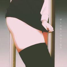 Anime Gifs, Thicc Anime, Anime Demon, Kawaii Anime, Anime Girl Hot, Anime Art Girl, Anime Sensual, Naruto Girls, Animes Wallpapers