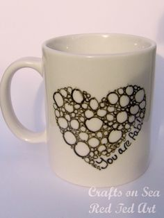 "Lovely and simple mug.. I think this says ""I Love You"" perfectly! So sweet."