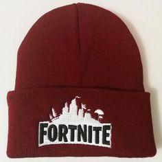 Mens Fortnite Game Logo Hat Beanie Battle Royale Embroidery Knitting Winter  Caps  fortnite  UK ae3250805d8e