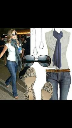 Jennifer Aniston - great look Autumn Fashion Casual, Casual Fall Outfits, Fall Winter Outfits, Spring Outfits, Cute Outfits, Estilo Jennifer Aniston, Jenifer Aniston, Fashion Pants, Look Fashion