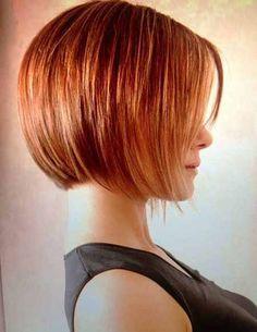 bob haircuts wavy hair layered - Google Search