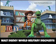 Walt Disney World Military Offers & Discounts #DisneyWorld #SaveMoney #Travel  #DisneyDiscount