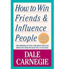 A classic for people who want to learn how to relate to others and influence them. I mean 16 million copies of this book has been sold since 1930s. You can't go wrong with this book. :)