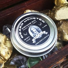 Henry Avery Mustache Wax Beard Monster Vanilla Citrus Spice Scent All Natural