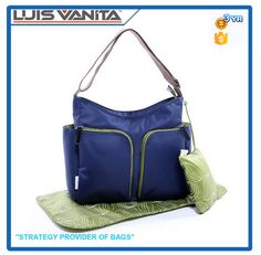 Look what I found Via Alibaba.com App: - Wholesale Durable Blue Diaper Tote Bag