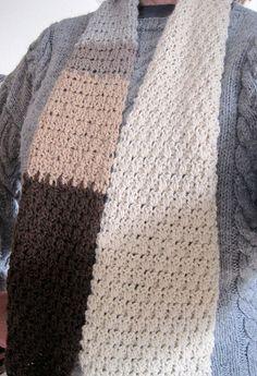 Soft Seed Stitch Scarf