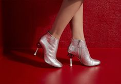 Sassy Minna Parikka boots for women. Occult, Victoria, Booty, Ankle, Silver, Shoes, Women, Fashion, Moda