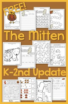 """The Mitten by Jan Brett is one of my favorite books. There are other illustrated versions of the folk story """"The Mitten"""" but Jan Brett's is my favorite. Her illustrations are ju…"""