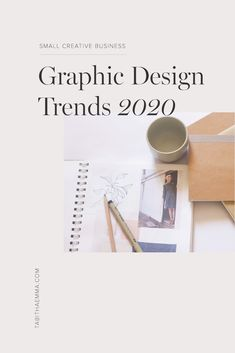 Graphic Design Trends 2020 The top graphic design trends in small business for The latest trends for creatives in their brand design. Colour, typography, font, layout and shape trends in twenty twenty. The news inspired design trends Graphisches Design, Design Food, Graphic Design Trends, 2020 Design, Graphic Design Tutorials, Graphic Design Typography, Brand Design, Graphic Design Inspiration, Icon Design