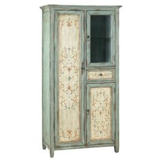Deluna Cabinet from Joss & Main - I love this!!! The colors, design, style!