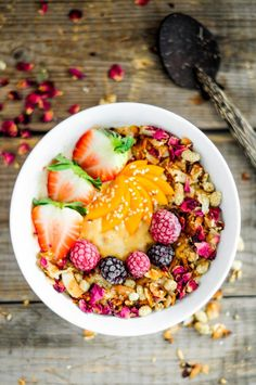 Smoothie Bowl Perfection! | #recipe #healthy #Healthy #Easy #Recipe | @xhealthyrecipex |
