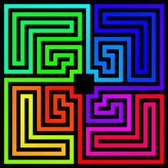 Roman labyrinth looped spectrum