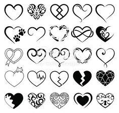 Set of 25 tattoo hearts image. - Set of 25 tattoo hearts image. Informationen zu Set of 25 tattoo hearts image. Mini Tattoos, 12 Tattoos, Symbol Tattoos, Sister Tattoos, Couple Tattoos, Body Art Tattoos, Tatoos, Rosary Tattoos, Bracelet Tattoos
