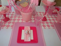"""We love PINK, and many girls love """"Pinkalicious""""--we are here to sharethe first of twoadorable parties inspired by this theme! This utterl..."""