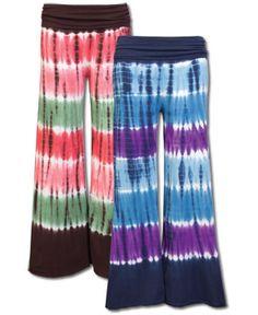 Positive Vibes Tie-Dye Pants