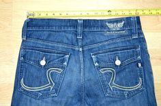 ⭐ROCK & REPUBLIC Jeans Men (31 x 29) Taylor BOOT CUT Button Fly Flap Pockets     eBay