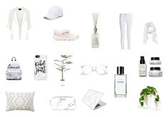 Pure White by truccaticoneva on Polyvore featuring arte