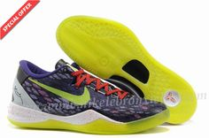 Year Of The Snake Nike Kobe 8 System Purple Volt Inc Action Red 555035 105