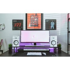 """1,341 Likes, 5 Comments - Mal - PC Builds and Setups (@pcgaminghub) on Instagram: """"An absolutely perfect setup! Yamaha HS5s are definitely one of the nicest looking pair of speakers…"""""""