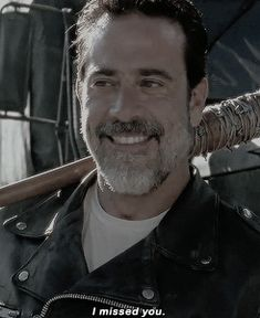 Negan (TWD 7x4) little did he know.... I missed him too!