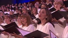 "Beautiful live performance of the Mormon Tabernacle Choir singing, ""My Shepherd Will Supply My Need"" an American folk hymn based on Psalm 23."